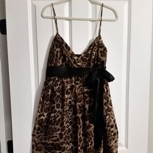 ABS Cocktail dress Animal print size 14